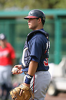 March 23rd 2008:  Osman Marval of the Atlanta Braves minor league system during Spring Training at Disney's Wide World of Sports in Orlando, FL.  Photo by:  Mike Janes/Four Seam Images