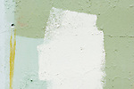 Abstract Detail of Painted Concrete Wall, Artillery Hill, Fort Warden, Port Townsend, WA, USA