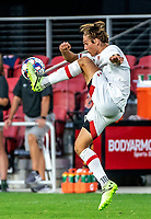 WASHINGTON, DC - SEPTEMBER 6: Maryland midfielder Ben Bender (8) controls the ball during a game between University of Virginia and University of Maryland at Audi Field on September 6, 2021 in Washington, DC.