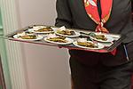 04.02.2019, Dorint Park Hotel Bremen, Bremen, GER, 1.FBL, 120 Jahre SV Werder Bremen - Gala-Dinner<br /> <br /> im Bild<br />  Feature Canapés zum Empfang<br /> <br /> Der Fussballverein SV Werder Bremen feiert am heutigen 04. Februar 2019 sein 120-jähriges Bestehen. Im Park Hotel Bremen findet anläßlich des Jubiläums ein Galadinner statt. <br /> <br /> Foto © nordphoto / Ewert