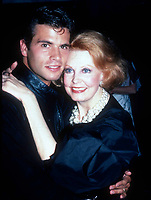 Lorenzo Lamas Arlene Dahl3374.JPG<br /> 1982 FILE PHOTO<br /> New York, NY<br /> Lorenzo Lamas w/ mom Arlene Dahl; Studio 54<br /> Photo by Adam Scull-PHOTOlink.net<br /> ONE TIME REPRODUCTION RIGHTS ONLY<br /> NO WEBSITE USE WITHOUT AGREEMENT<br /> E-TABLET/IPAD & MOBILE PHONE APP<br /> PUBLISHING REQUIRE ADDITIONAL FEES<br /> 917-754-8588-CELL eMail: INFO@PHOTOLINK.NET