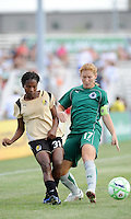 Formiga #31. Lori Chalupny..Saint Louis Athletica tied 1-1 with F.C Gold Pride, at Anheuser-Busch Soccer Park, Fenton, Missouri.
