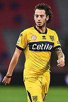 Jacopo Dezi <br /> during the Serie A football match between Bologna FC and Parma Calcio 1913 at stadio Renato Dall Ara in Bologna (Italy), September 28th, 2020. Photo Image Sport / Insidefoto