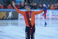 SCHAATSEN: AMSTERDAM: Olympisch Stadion, 11-03-2018, WK Allround, Coolste Baan van Nederland, Wereldkampioen - World Champion Patrick Roest (NED), ©foto Martin de Jong