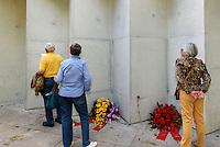 Deserteurdenkmal von Volker Lang erbaut 2015, Hamburg, Deutschland<br /> renegades monument built 2015  by Volker Lang,  Hamburg, German