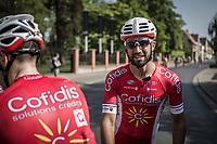 Nacer Bouhanni (FRA/Cofidis) after winning the GP Marcel Kint 2018 <br /> Kortrijk > Zwevegem 174.8km (BELGIUM)