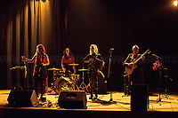 """Le Cardamomò - https://www.facebook.com/lecardamomomusic<br /> <br /> Rome, 14/04/2018. Today, the """"Nuovo Cinema Palazzo"""", to celebrate the 7th anniversary of its occupation, held a concert with various bands, including """"Nosenzo"""" (Alessandro Nosenzo: lead singer, songwriter, guitar; Giulia Anita Bari: violin; Renato Gattone: contrabass / double bass - https://www.renatogattone.net/; Nicolò Di Caro: Drums; <<Mediterranean Sound and Gypsy Heart, Nosenzo embraces different styles and historical periods for his music, looks to the East and embraces the earth. His music is a mixture of cultures and gives way to dances watching the world as a beautiful playground […]>>). From the organiser website: <<On the 15 April 2011, citizens, movements, workers of the entertainment industry reopened the former """"Palazzo Cinema"""" to prevent the opening of a casino. The project, which was without authorization and strongly illegitimate, would have involved the San Lorenzo's area and its urban and social community. It was against the 'construction' of gambling and the rampant speculation from which the project of the Nuovo Cinema Palazzo was born, now that is the place of the 'possible' in which art, culture and politics constantly take shape and content. [...] Where decisions are made focusing on the relationship and the meeting between people there is always an open place for exchange, discussion and sharing. Every moment in which it is decided to resist opens a different horizon capable of creating a cultural, political and social space accessible to everyone. Every form of material and immaterial work which is practised is the collective will that gives back  quality as well as quantity, at the same time enhancing aesthetics and beauty [...] >>.<br /> <br /> For more info please click here: http://www.nuovocinemapalazzo.it/ & https://bit.ly/2H0QBqb<br /> <br /> For More info about Nosenzo please click here: https://bit.ly/2H0nOSM & https://bit.ly/1IFlc6P & https://bit.ly/2qztM1T & ht"""