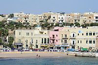 St. George's Bay in Paceville, Malta, Europa