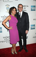April 28, 2012 Jennifer Grey, Clark Gregg attends the Closing  Night of the 2012 Tribeca Film Festival with Marvel' the Avengers at BMCC Tribeca Pac in New York City..Credit:RWMediapunchinc.com