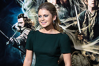 """HOLLYWOOD, CA - DECEMBER 02: Rose McIver arriving at the Los Angeles Premiere Of Warner Bros' """"The Hobbit: The Desolation Of Smaug"""" held at Dolby Theatre on December 2, 2013 in Hollywood, California. (Photo by Xavier Collin/Celebrity Monitor)"""