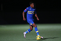 Malaki Toussaint of Romford during Romford vs Tilbury, Pitching In Isthmian League North Division Football at Mayesbrook Park on 29th September 2021