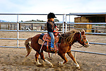 Cash riding Dolly, San Luis Obispo, California