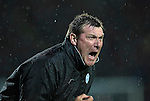 St Johnstone v Hearts…10.08.16..  McDiarmid Park…BetFred Cup<br />Tommy Wright screams at his players<br />Picture by Graeme Hart.<br />Copyright Perthshire Picture Agency<br />Tel: 01738 623350  Mobile: 07990 594431