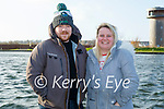 Celebrating an early Mothers Day with a stroll in the Tralee Bay Wetlands on Saturday, l to r: Faye Cooney and Andrew Daly.