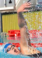 Trofeo Settecolli di nuoto al Foro Italico, Roma, 15 giugno 2013.<br /> Friis Lotte, of Denmark, competes in the womens' 800 meters  Freestyle at the Sevenhills swimming trophy in Rome, 15 June 2013.<br /> UPDATE IMAGES PRESS/Isabella Bonotto
