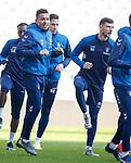 15.02.2019: Rangers training: James Tavernier and Borna Barisic