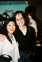 Toronto (ON) CANADA, April 21, 2007<br /> <br />  Susan Oh , Stephanie Chapelle, Productrice<br /> at the HOT DOCS Film Festival 2007 <br />  Canadian Party held at the BATA Show Museum.<br /> <br />     photo by Pierre Roussel - Images Distribution