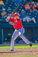 28 February 2017: Washington Nationals first baseman Brandon Snyder in action during the Spring Training inaugural game against the Houston Astros at the Ballpark of the Palm Beaches in West Palm Beach, Florida. The Nationals defeated the Astros 4-3 in Grapefruit League play. Mandatory Credit: Ed Wolfstein Photo *** RAW (NEF) Image File Available ***