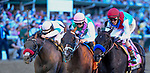 May 1, 2021 : Medina Spirit, #8, ridden by jockey John Velazquez, wins the 147th running of the Kentucky Derby on Kentucky Derby Day at Churchill Downs on May 1, 2021 in Louisville, Kentucky. Carlos Calo/Eclipse Sportswire/CSM
