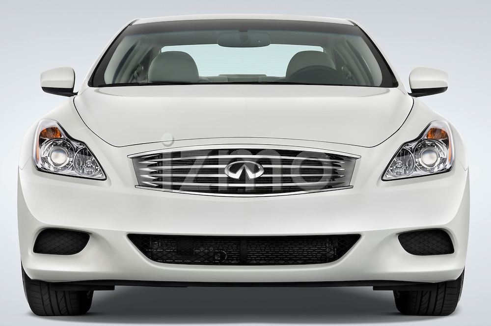 Straight front view of a 2008 Infiniti G37S Coupe