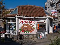 Imbiss bei der Brankova, Belgrad, Serbien, Europa<br /> foodstall at Brankova, Belgrade, Serbia, Europe
