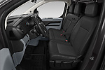 Front seat view of 2020 Peugeot e-Expert FT-Premium 5 Door Cargo Van Front Seat  car photos