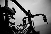 2013 Giro d'Italia.stage 12.Longarone - Treviso: 134km..The Dark Horse is out for an obscured ride