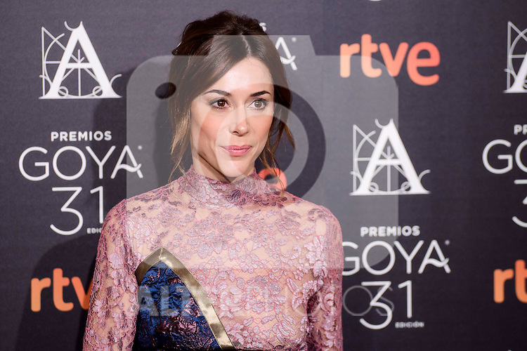 Ruth Diaz attends to the 2017 Goya Awards Candidates Cocktail at Ritz Hotel in Madrid, Spain. January 12, 2017. (ALTERPHOTOS/BorjaB.Hojas)