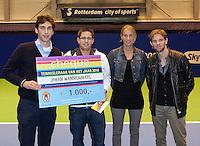 17-12-11, Tennis, Netherlands, Rotterdam, Masters, Tennisleraar van het jaar Johan Wannemakers