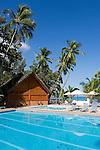 Seychelles, Island Mahe, Anse Beau Vallon, Berjaya Beau Vallon Bay Hotel - Pool
