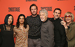 Young Jean Lee, Ty Defoe, Armie Hammer, Tom Skerritt, Paul Schneider, Kate Bornstein attends photo call for the Second Stage Theatre Company production of 'Straight White Men'  at Sardi's on June 14 30, 2018 in New York City.