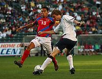 USA vs Costa Rica mens 20 under soccer..Photo by ©Matt A. Brown