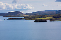 Þingvallavatn, Pingvallavatn, Thingvallavatn, See im Südwesten von Island im Nationalpark Þingvellir, Þingvellir, Pingvellir, Thingvellir, Þingvellir-Nationalpark, Pingvellir-Nationalpark. Lake in Þingvellir National Park, Iceland