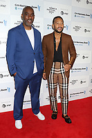 NEW YORK, NEW YORK - JUNE 10: Mike Jackson and John Legend at the 2021 Tribeca Festival Premiere of Legend Of The Underground at Brookfield Place on June 10, 2021 in New York City.  Credit: RW/MediaPunch