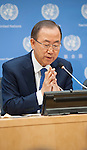 Press Conference: by the Secretary-General