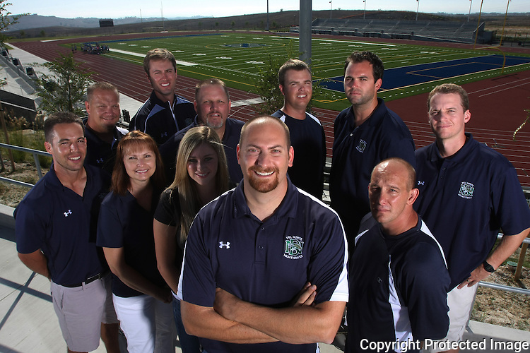 Athletic educators at Del Norte High School in San Diego in September, 2009. photo for the North County Times