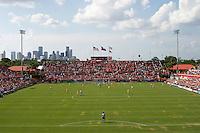 Houston Dynamo home stadium, Robertson Stadium on the University of Houston campus.  Houston Dynamo beat FC Dallas 2-1 at Robertson Stadium in Houston, TX on June 3, 2007.
