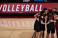 STANFORD, CA - January 4, 2020: Stanford beats UC Santa Cruz 3-0 at Maples Pavilion.