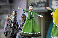 Asie/Inde/Rajasthan/Udaipur: Détail marionnettes
