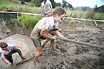 NELSON, NEW ZEALAND -April 9: Wairua Warrior Obstacle Race on April 9 2016 in Cable Bay, Nelson, New Zealand. (Photo by: Evan Barnes Shuttersport Limited)