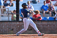 Johnson City Cardinals right fielder Jaylin Davis (21) swings at a pitch during a game against the Elizabethton Twins at Howard Johnson Field at Cardinal Park on June 26, 2016 in Johnson City, Tennessee. The Twins defeated the Cardinals 13-12. (Tony Farlow/Four Seam Images)