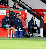 10th October 2020; Bescot Stadium, Wallsall, West Midlands, England; English Football League Two, Walsall FC versus Colchester United; Walsall Manager Darrell Clark