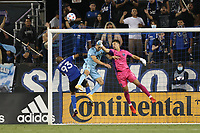 SAN JOSE, CA - AUGUST 17: JT Marcinkowski #1 of the San Jose Earthquakes before a game between Minnesota United FC and San Jose Earthquakes at PayPal Park on August 17, 2021 in San Jose, California.