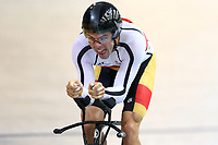 Nicholas Kergozou of Southland competes in the Men Elite 1000M TT during the 2020 Vantage Elite and U19 Track Cycling National Championships at the Avantidrome in Cambridge, New Zealand on Thursday, 23 January 2020. ( Mandatory Photo Credit: Dianne Manson )