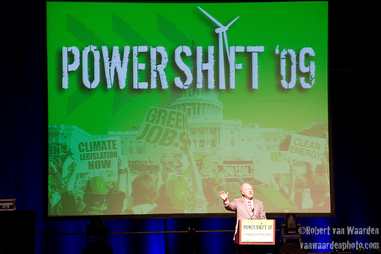 Secretary of the Interior, Mr. Salazar speaks at Power Shift '09 (©Robert vanWaarden ALL RIGHTS RESERVED)