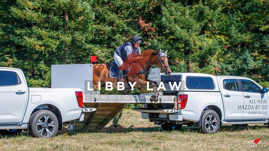 NZL-Donna Edwards-Smith rides DSE Mendoza. Randlab Veterinary Medicines CCI 4*-S. 2021 NZL-RANDLAB Matamata Horse Trial. Sunday 21 February. Copyright Photo: Libby Law Photography.