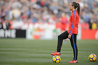 San Diego, Ca - Sunday, January 21, 2018: Mallory Pugh during a USWNT 5-1 victory over Denmark at SDCCU Stadium.