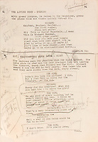 BNPS.co.uk (01202 558833)<br /> Pic: HeritageAuctions/BNPS<br /> <br /> Pictured: Marilyn Monroe's heavily annotated script for The Seven Year Itch fetched £59,000.<br /> <br /> A selection of Marilyn Monroe memorabilia including some of her famous dresses have sold for £930,000 following a bidding war. ($1.28m)<br /> <br /> The starlet's outfit for the film Bus Stop (1956), a black lace over green mesh top and black silk wraparound skirt, fetched £290,000. The ensemble was lent to Madonna in 1991 for a Vanity Fair photo shoot.<br /> <br /> Her silk polka-dot dress from The Seven Year Itch (1955), which had a label with 'M.Monroe' handwritten on it, went for £154,000.<br /> <br /> Monroe's pearl encrusted mermaid gown from The Prince and the Showgirl (1957) sold for £113,000, while her heavily annotated script for The Seven Year Itch fetched £59,000.<br /> <br /> The memorabilia went under the hammer with Heritage Auctions, of Dallas, Texas, who said the prices achieved showed her 'enduring popularity' with collectors 59 years after her death.