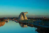 The Kelpies and the Forth and Clyde Canal, Helix Park, Falkirk