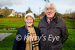 Enjoying a stroll in the Tralee town park on Thursday, l to r: Irene and Jim Maher.